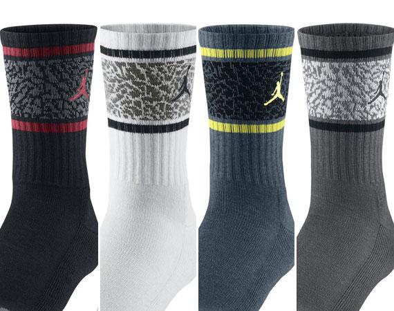 Jordan Brand Elephant Print Crew Socks