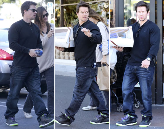 Mark Wahlberg Wearing Air Jordan III Joker