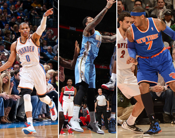 NBA Jordans on Court: Weekend Recap – 2/22 – 2/24
