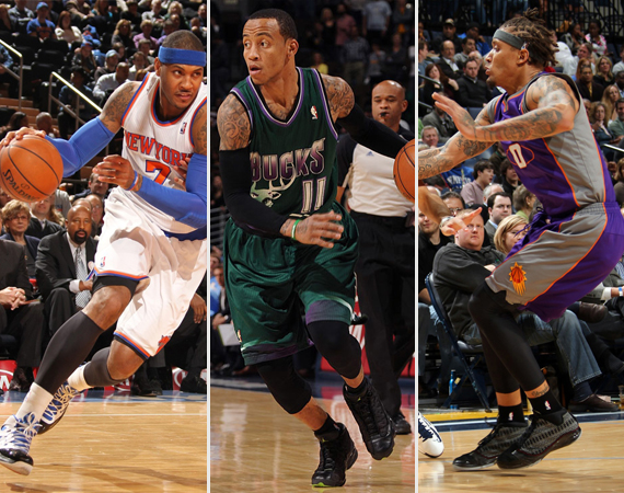 NBA Jordans on Court: Around The League  2/4  2/7