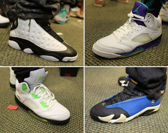 Sneaker Con Charlotte Miami February 2013: On Feet Recap