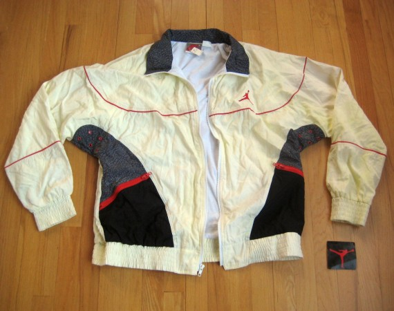 Vintage Gear: Air Jordan III Warm Up Jacket