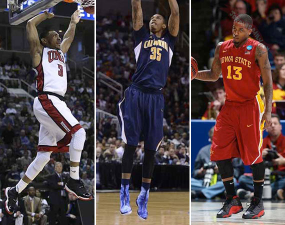 NCAA Jordans on Court: 2013 March Madness Round 1 & 2 Recap