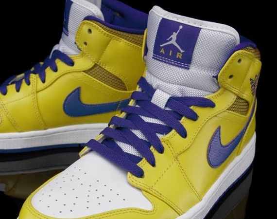 Air Jordan 1 Mid: Lakers   Available