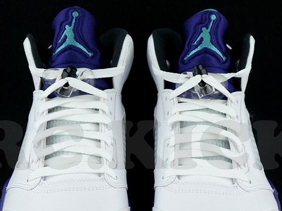 Air Jordan V Retro: Grape  Available on eBay
