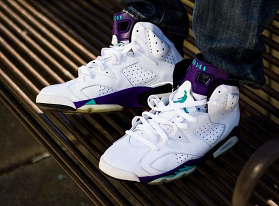 Air Jordan VI: Grape Customs by El Cappy