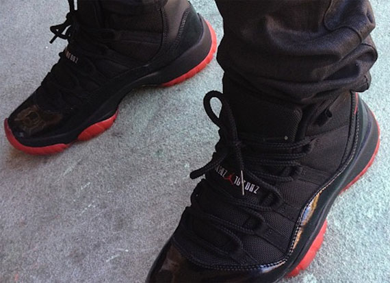 "Air Jordan XI: ""Blacked Out Bred"" by Noldo Customs"
