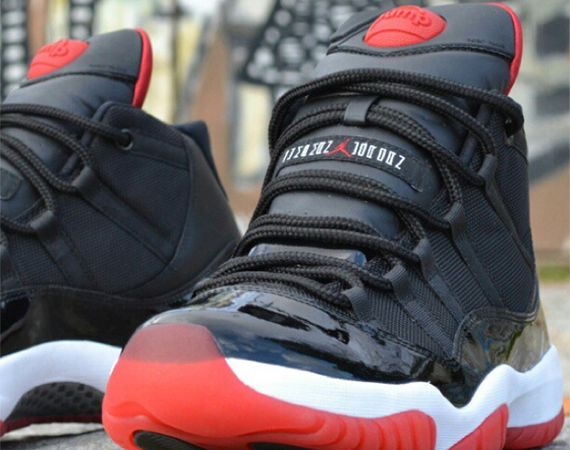 "Air Jordan XI: ""Bred Pump"" Customs by Freakersneaks"