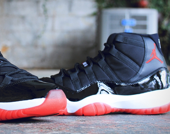 check out df911 5bd2b Air Jordan XI  Bred  Archives - Air Jordans, Release Dates   More    JordansDaily.com