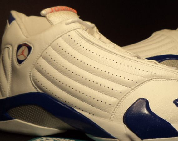Arriving as one of the first goodies whipped up for Quentin Richardson  during his New York Knicks days was this version of the Air Jordan XIV. 1edcbd9fc