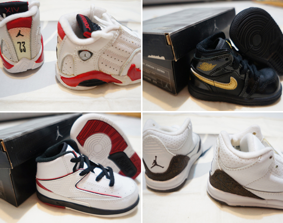 Air Jordan Baby Sneakers Collection from henry071