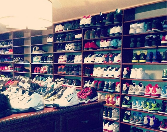 Chris Paul's Sneaker Room