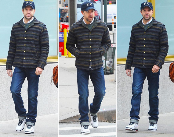 Jason Sudeikis Wearing Air Jordan II