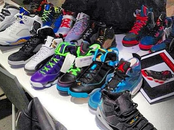 Jordan Brand Holiday 2013 Samples