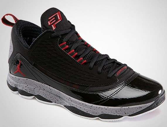 Jordan CP3.VI AE: Black  Gym Red  Cement Grey