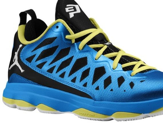 Jordan CP3: Photo Blue   Black   Electric Blue | Available