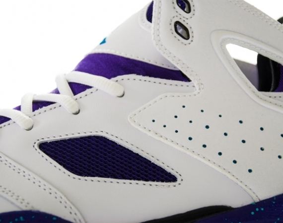 """0f870f0cb067 Upcoming retro pair is preceded by related apparel and secondary Jordan  Brand silhouettes sporting the same exact coloray. The Air Jordan V """"Grape̶."""