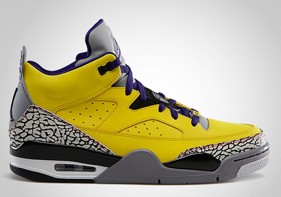 the best attitude 159e1 3993d The Jordan Son of Mars Low will release first in this tour yellow colorway. The  sneaker will be in stores on April 13th, arriving just over a year later ...