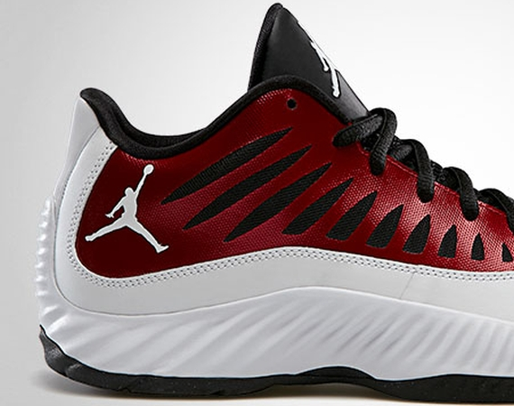 Jordan Super.Fly Low: Gym Red   White