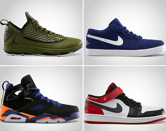 May 2013 Jordan Brand Footwear Releases
