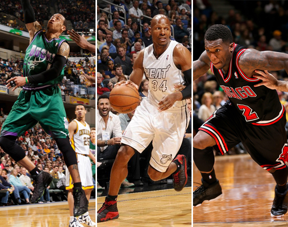NBA Jordans on Court: Around the League  3/22  3/26