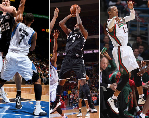 NBA Jordans on Court: Around The League  3/11  3/14