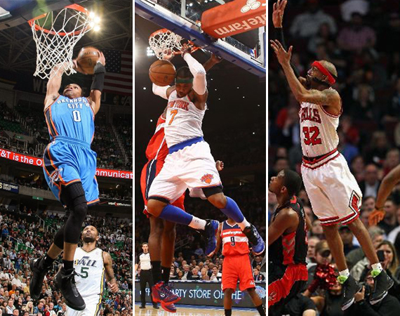 NBA Jordans on Court: Around The League – 4/8 – 4/11