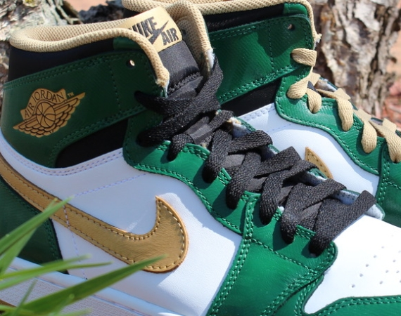 Air Jordan 1: Celtics   Arriving in Stores