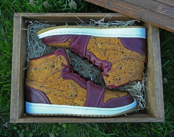 Air Jordan 1: Venetto Customs by JBF & Regularolty  Available on eBay 