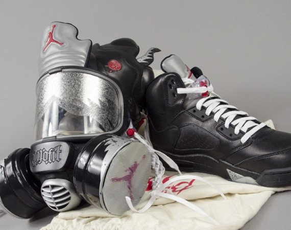 "Air Jordan V ""Bin 23″ Gas Mask by Freehand Profit"