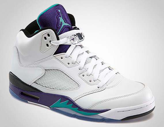 Air Jordan V: Grape   Official Images