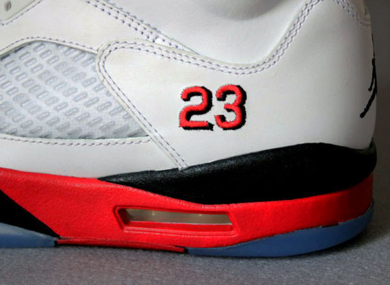 "Air Jordan V Retro ""Fire Red"""