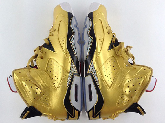 "Air Jordan VI ""91 Champ"" Customs by El Cappy"