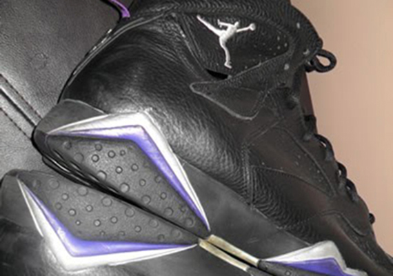 Air Jordan VII: Ray Allen Milwaukee Bucks Away PE