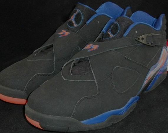 "Air Jordan VIII Low: Jared Jeffries ""Knicks"" Away PE"