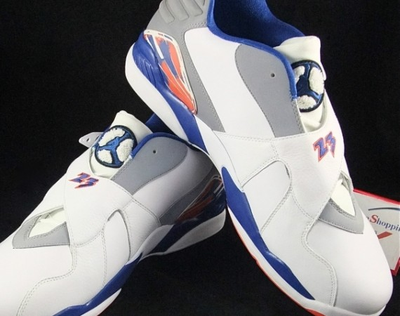 "Air Jordan VIII Low: Jared Jeffries ""Knicks"" Home PE"