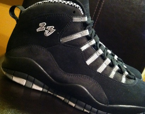 Air Jordan X: Stealth  Unreleased 23 Sample