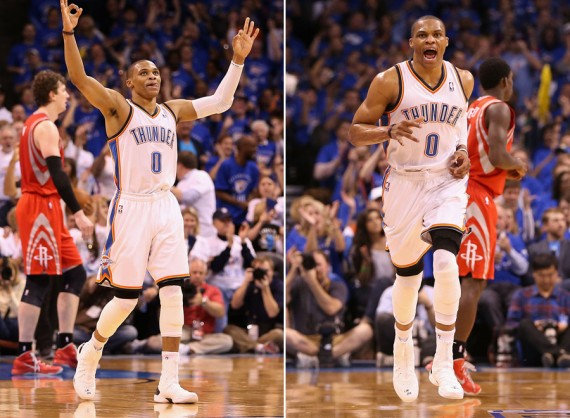 "Russell Westbrook Wearing Air Jordan XX8 ""White/Black"" PE"