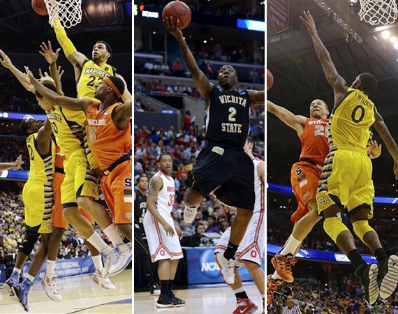 NCAA Jordans on Court: 2013 March Madness Sweet 16 & Elite 8 Recap