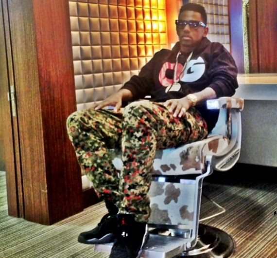 Fabolous Wearing Air Jordan VIII Playoffs