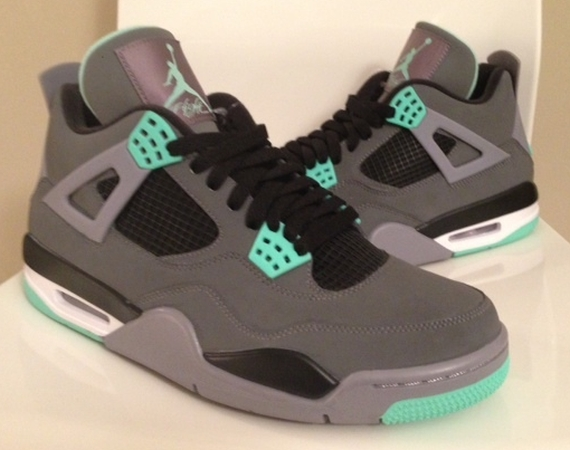 """Green Glow"" Air Jordan IV"