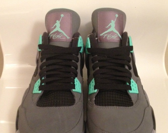 "buy popular 6d930 37ea9 The Air Jordan IV ""Green Glow"" will release on August 17th. The previews of  this brand new Air Jordan IV look haven t really done the sneaker justice  so ..."