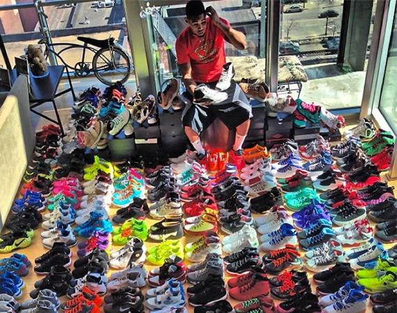 michael jordans shoe collection wwwpixsharkcom