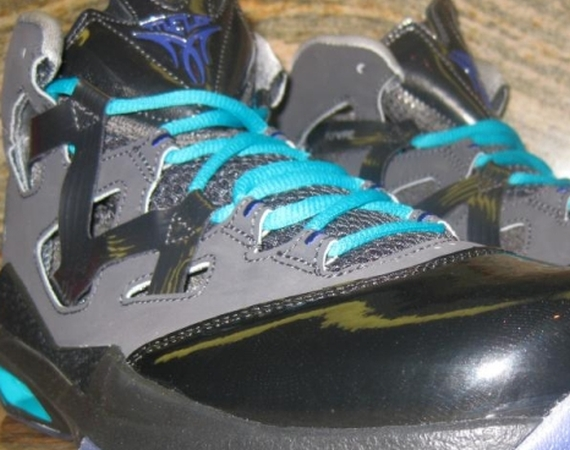 Jordan Melo M9: Black – Grape – Aqua – Sample