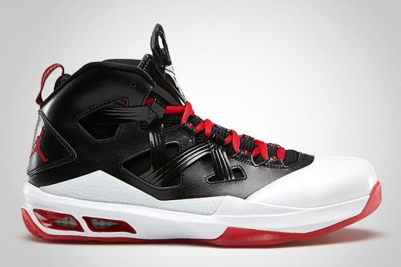 Jordan Melo M9: Black – Gym Red – White