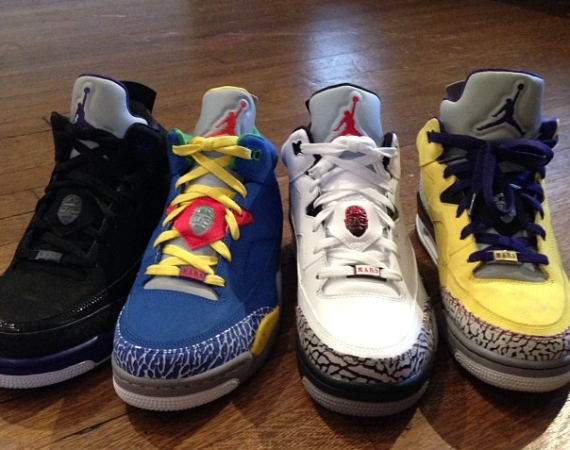 Jackson Lee Previews Jordan Son of Mars Low Releases