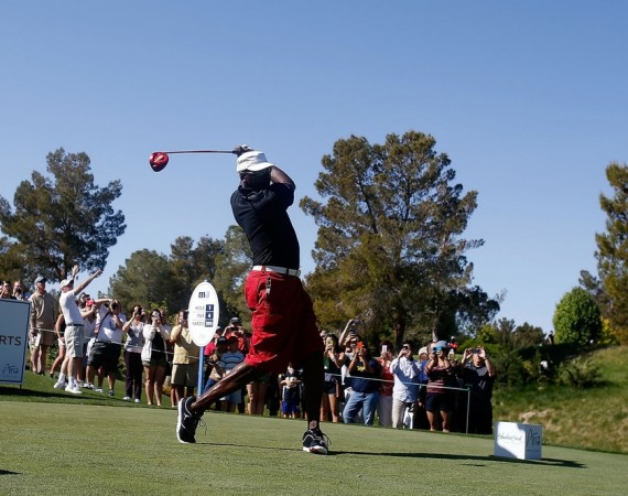 Michael Jordan Wears Jordan RCVR at MJ Celebrity Invitational 
