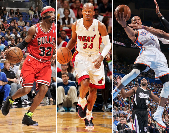 NBA Jordans on Court: Around The League  4/15  4/17