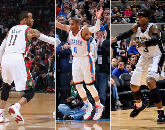 NBA Jordans on Court: Around The League  4/3  4/4