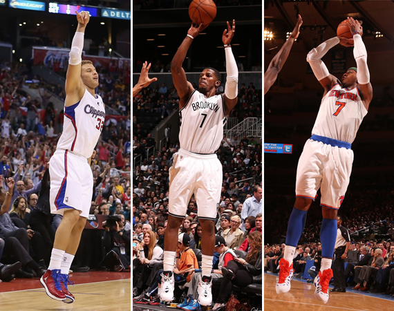NBA Jordans on Court: Weekend Recap – 4/5 – 4/7